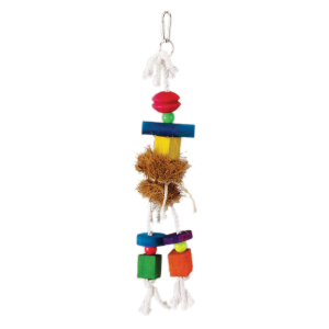 Prevue Pet Products Tropical Teasers Medium Hula Doll Bird Toy