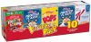 (3 Pack) Kellogg's Cereal  Variety Pack  10 count  10.94 Oz