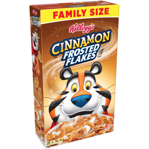 Kellogg's Frosted Flakes Breakfast Cereal  Cinnamon  24 Oz