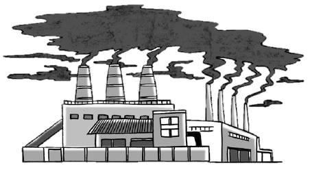 Pollutants from private industry