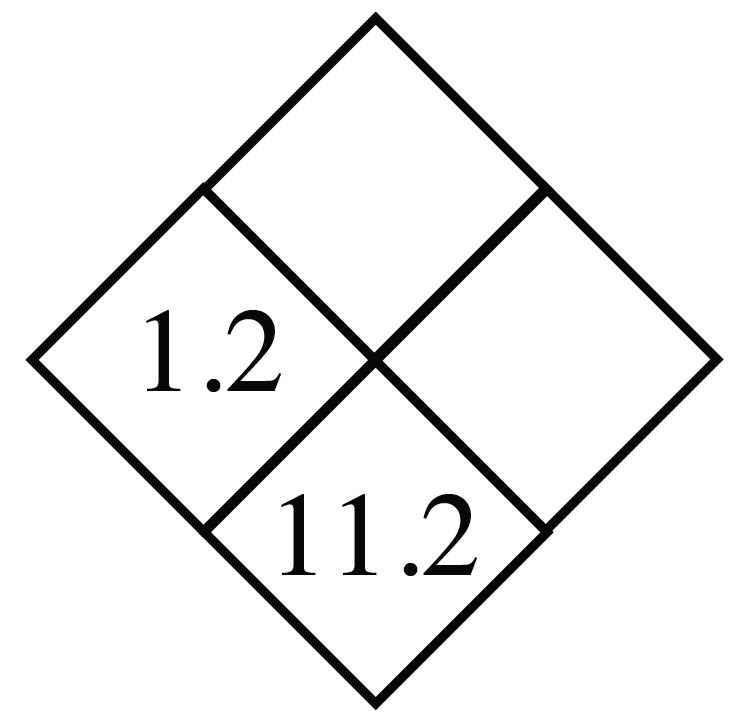 Diamond Problem. Left 1.2, Right blank,  Top blank,  Bottom 11.2
