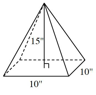 a pyramid 10