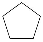 A 5 sided figure.