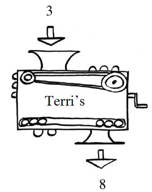 Terri's function machine