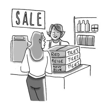 Sale on Tiles