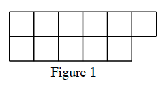 Figure 1 has 11 tiles connected at a side. Your teacher will provide you with a model.