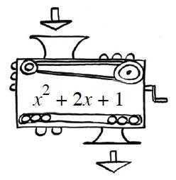 Function machine x^2 + 2x + 1