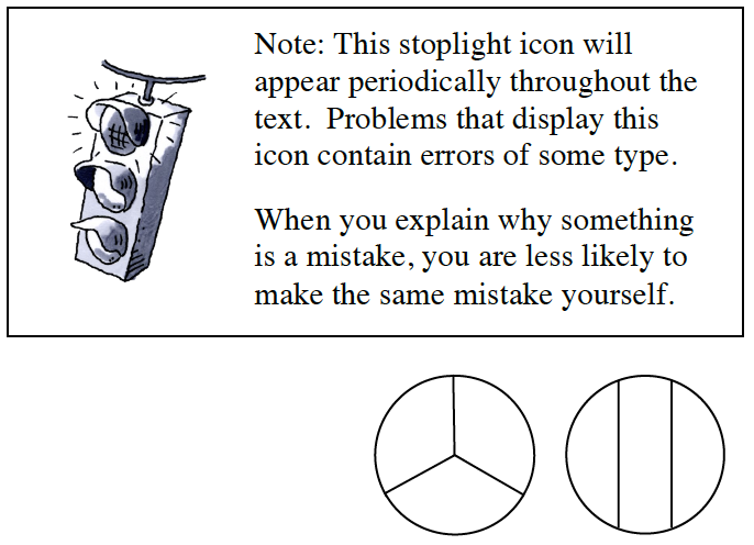 Stoplight image with Note box