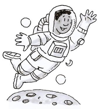 The moon homework help