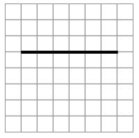 Line segment: right 6.