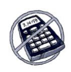 no calculator icon