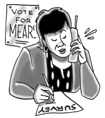Survey caller