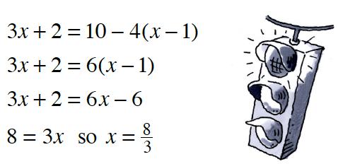 equations & signal light