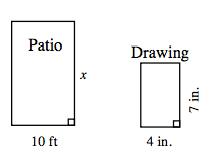 Scale drawing homework help