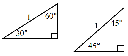 triangles with missing sides