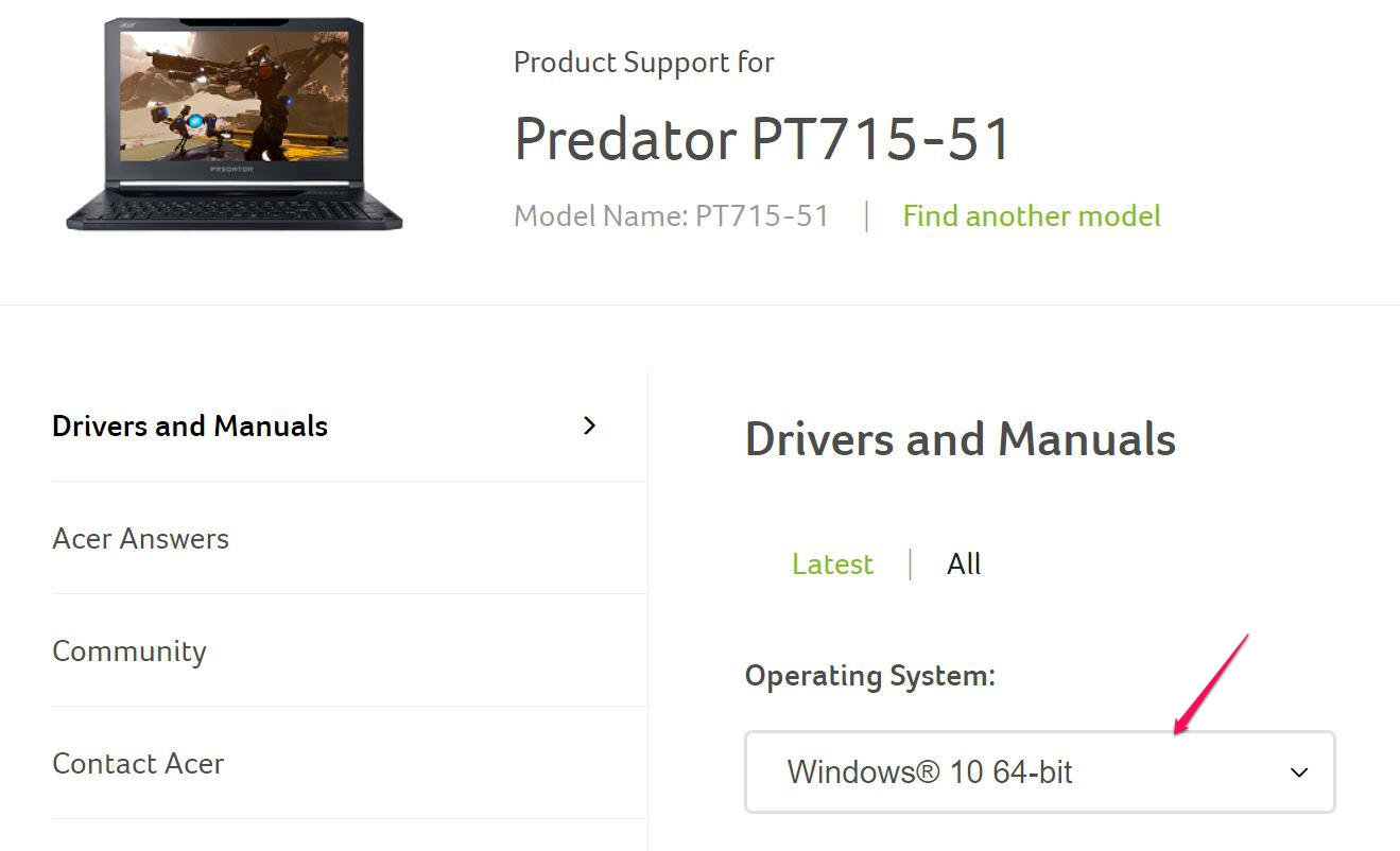 Thunderbolt™ 3 Firmware and Driver Updates for Acer