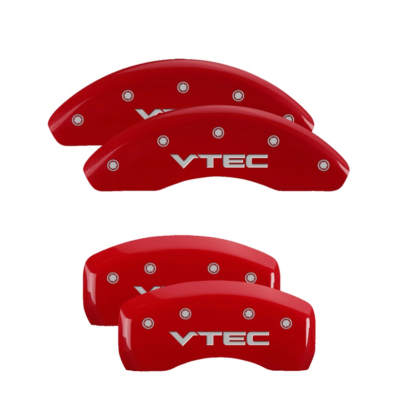 2005 Acura TSX Base Red MGP Disc Brake Caliper Covers