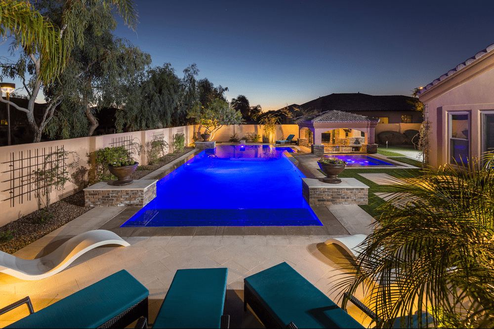 Pool Light Shows and Themes