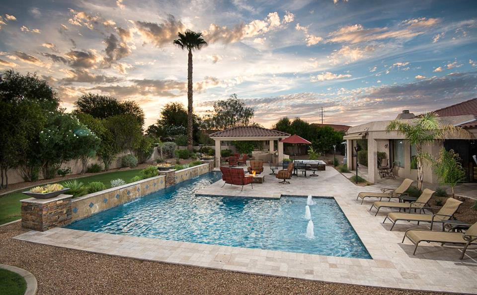 arizona dream pool and backyard