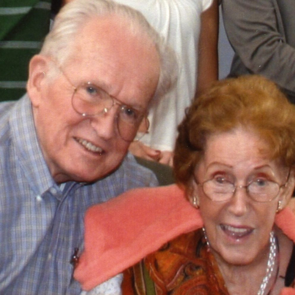 Allen and Lenabelle Davis in 2008
