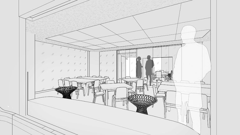 Conference room concept sketch