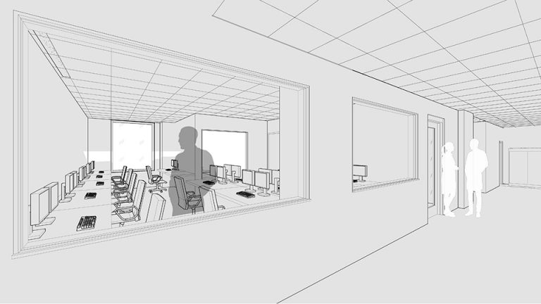Preliminary concept for the bioinformatics laboratory
