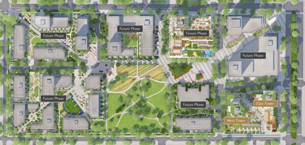 Cambie Gardens Siteplan