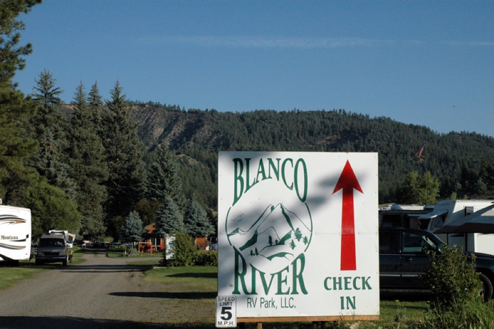 Blanco River Rv Park Pagosa Springs Co Campgrounds