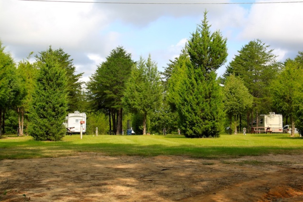 Hillside Bluegrass RV Park - Cochran, GA - Campgrounds