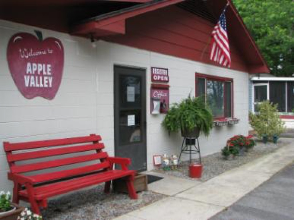 apple valley travel park hendersonville  nc campgrounds