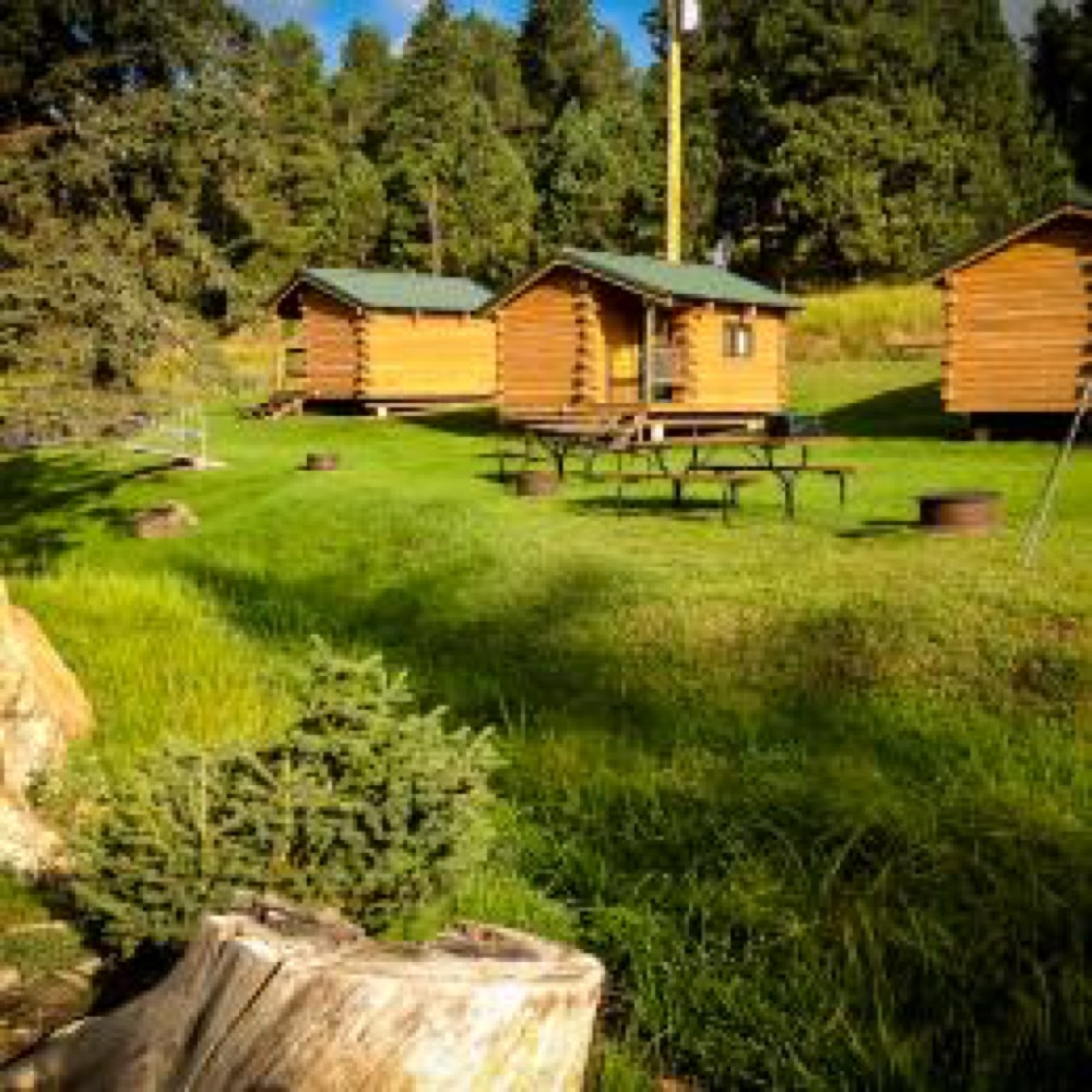 Hidden valley campground deadwood sd campgrounds for Camp sites with cabins