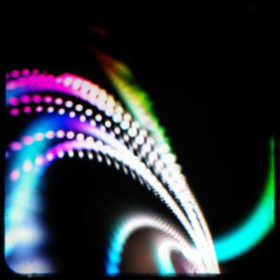 Abstract spiral-shaped screensaver
