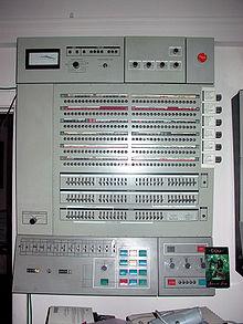 Old IBM mainframe.