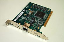 FORE Systems ForeRunnerLE 25 Mbps UTP Asynchronous Transfer Mode (ATM) PCI network interface card.