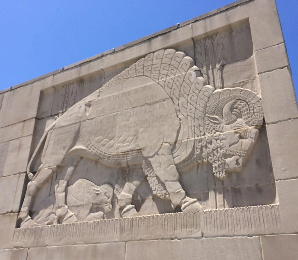 Bison panel main entrance