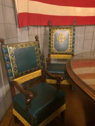 Counselor and Gvoernor's Chair
