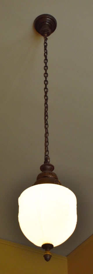 Hanging office lamp