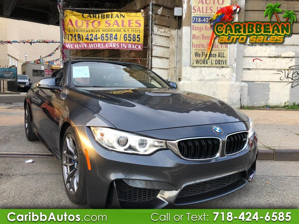 Caribbean Auto Sales >> Used 2015 Bmw M4 Convertible Rwd 42 995 For Sale Car Albert