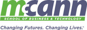 McCann School of Business & Technology logo