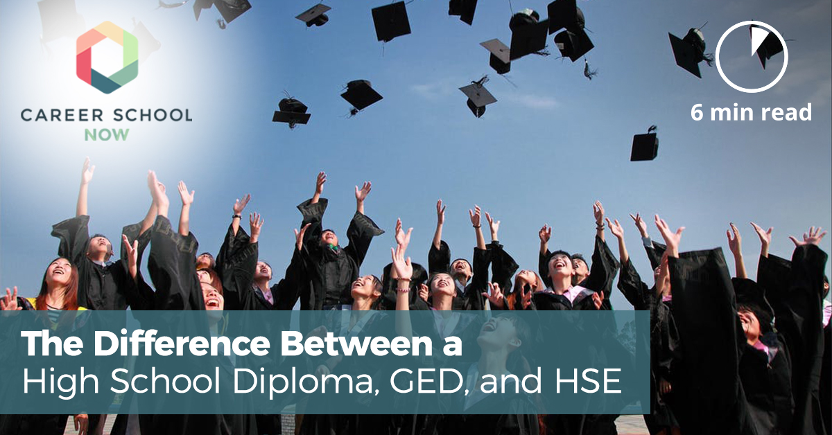 the difference between a high school diploma and a ged