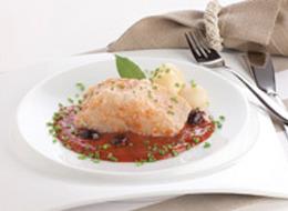 Bacalhau molho tomate