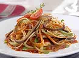 Espaguete mediterraneo