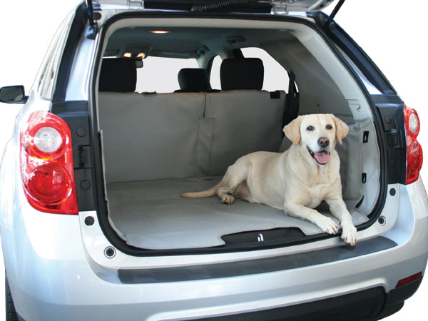 Cargoliner in SUV with Dog