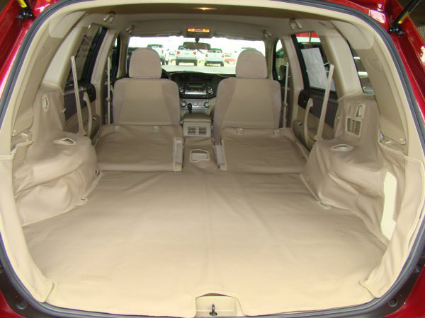 Ultimate Pet Liner Ford Edge cargo liner