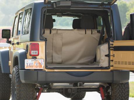Ultimate Pet Liner inside 2014 Jeep Wrangler