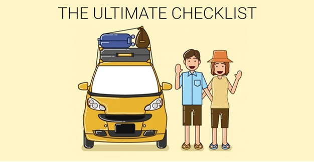 The Ultimate Checklist for your next Roadtrip