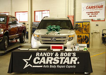 Randy & Bob's CARSTAR Donate To Recycled Ride Program