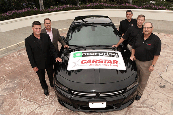 Enterprise Rent-A-Car Partners with CARSTAR as Preferred Car Rental Provider
