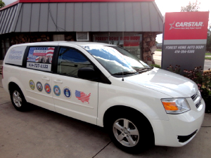 CARSTAR FOREST HOME AUTO BODY DONATES CAR TO VETERANS EMPLOYMENT ALLIANCE AS PART OF NATIONAL AUTO BODY COUNCIL RECYCLED RIDES® PROGRAM