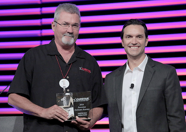 CARSTAR NAMES TOP INSURANCE AWARD WINNERS AT ANNUAL CONFERENCE IN NEW ORLEANS